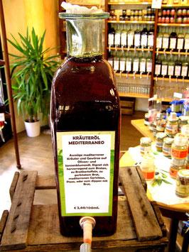 Kräuteröl Mediterraneo (Pizzaöl) 1l=28,00€