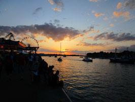 Abendsegeltörn zur Hanse Sail von 19 - 21:30 Uhr (Do & Fr)