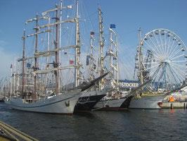 3h Nachmittagstörn zur Hanse Sail von 15:00 - 18:00 Uhr (Do-So)