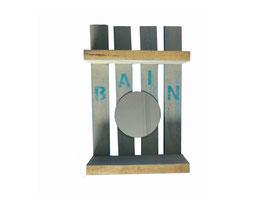 Étagère palette Bain
