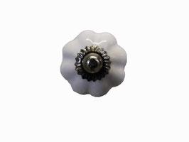 Bouton de meuble porcelaine Citrouille
