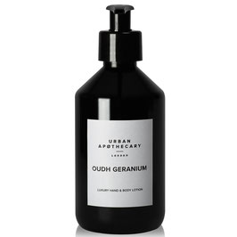 URBAN APOTHECARY | OUDH GERANIUM LUXURY HAND & BODY LOTION