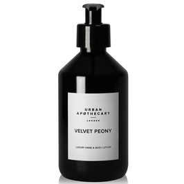 URBAN APOTHECARY | VELVET PEONY LUXURY HAND & BODY LOTION