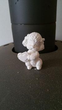 Kleiner Pudel Pudy mit Herz