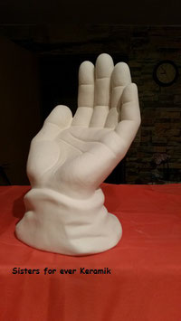 große Hand Gottes