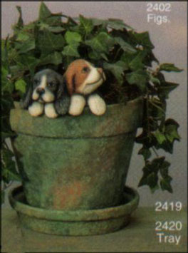 Blumentopfhänger Sinto und Pinto