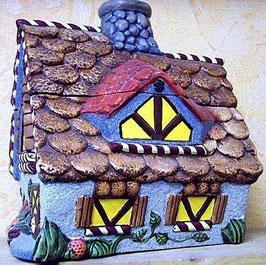 Lebkuchenhaus als Dose