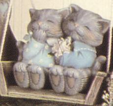 Süßes Katzenpaar Barney und Betty