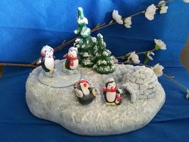 Pinguin-Polarbase mit Zubehör