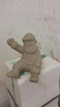 Santa für Schlitten