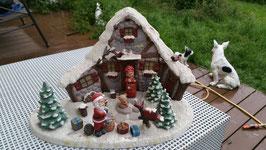 Weihnachtsdorf mit vielen Kleinteilen