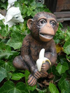 Affe Joe mit Banane