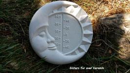 Thermometer mit Sonne/Mond