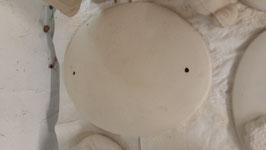 ovales Schild