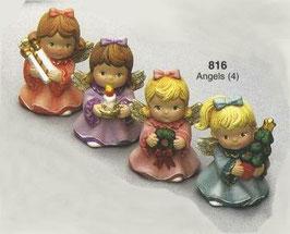 4 kleine Engelsmädchen