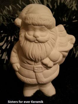 Kleiner Weihnachtsmann mit Sack