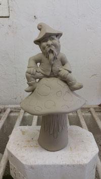 Jerome auf Pilz