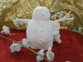 Schneemann mit Schneekind