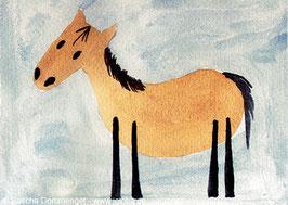 """Postkarte Esel """"Lukas"""""""