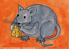 "Postkarte Ratte ""Fellini"""
