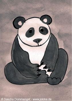 "Postkarte Panda ""Tao"""