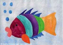 "Postkarte Fisch ""Belli"""