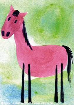 "Postkarte Pferd ""Lola"""