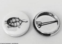 """Button sw """"Schildkröte"""""""