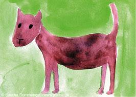 "Postkarte Hund ""Louis"""