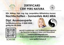 Zertifikate - Diplome - Karten
