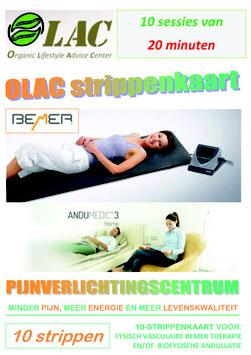 10-STRIPPENKAART > Andullatie-/Bemer-therapiematras