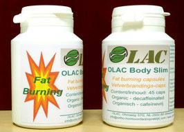 OLAC Body Slim - Vetverbrandingscapsules / 45 caps  ** NIEUW **