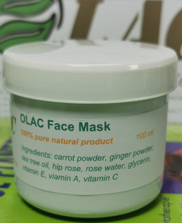 OLAC  Face Mask - 100% pure natural product - 100ml.