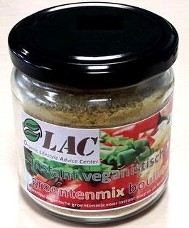 OLAC bio-organische vegan groentenmix kruidenaroma/instant bouillon - 200 g