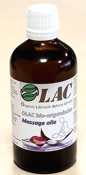 OLAC bio-organische massageolie - 100 ml