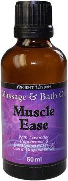 Muskelentspannendes Massageöl - 50ml Braunglasfläschchen