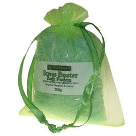Aromatherapiebadesalz mit Bergamotte, Geranie und Vetiver