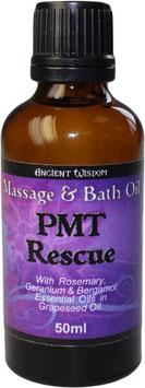 PMS Massageöl - 50ml Braunglasfläschchen