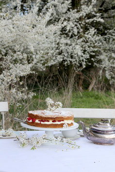 Tea time as with Jane Austen in the spring garden (20.03.21)