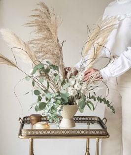 Stoneware Ikebana Vase