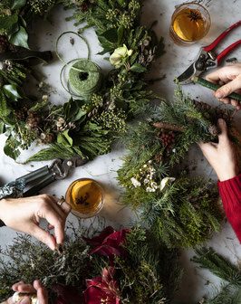 Workshop: Cristmas Wreath party (20./21. 11.20)