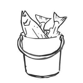 Hobbyfischer - 6 Lieferungen NORWYK-Rauchlachs
