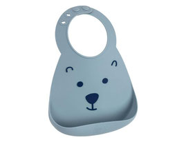 BAVOIR SILICONE OURS GRIS