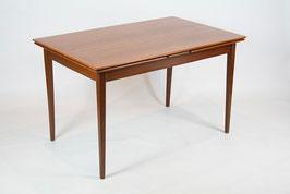 60er TEAK TISCH ESSTISCH DANISH DESIGN 60s TEAK DINING TABLE, ausziehbar