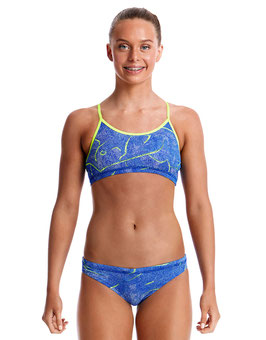 Funkita Sea Salt Girls Schwimmbikini Racerback