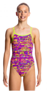 Funkita Badeanzug Dotty Dash Single Strap (Girls)