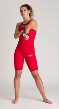 Arena Powerskin Carbon Air 2  - Wettkampfanzug Open Back - red