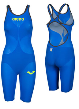 Arena Powerskin Carbon Air 2  - Wettkampfanzug FBSL, Open Back electric blue