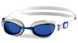 Speedo Schwimmbrille Aquapure weiß/blau