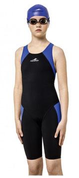 Aquafeel Wettkampf Anzug Junior schwarz/blau